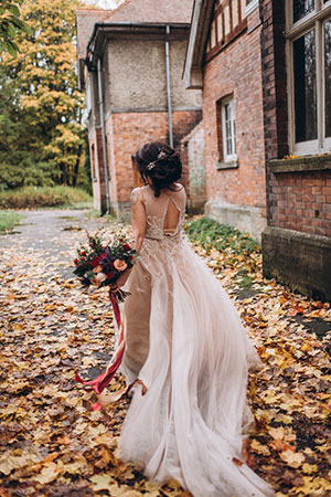 Особенности осенней свадьбы. Совместно со СказкаProject.
