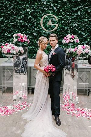 Cosmo wedding. Лучший проект 2017 года.