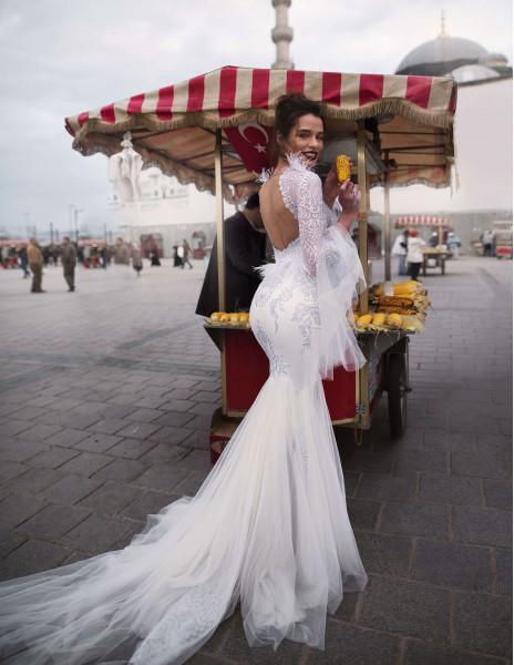 Свадебное платье EVRIDIKA