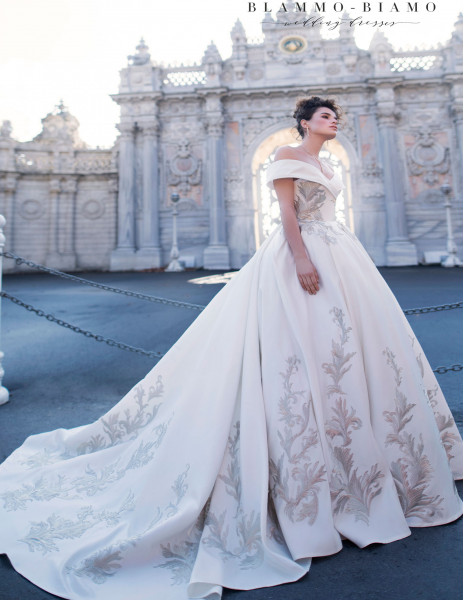 Свадебное платье ZEILA