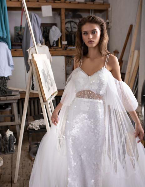 Свадебное платье  SCALES